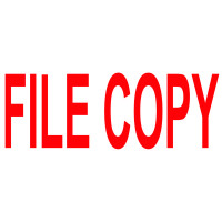 COLOP Green Line Word Stamp File COPY Red C144837FICO