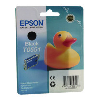 Epson T0551 Black Inkjet Cartridge C13T05514010 / T0551