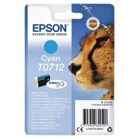 Epson T0712 Cyan Inkjet Cartridge C13T07124012