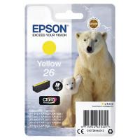Epson 26 Yellow Inkjet Cartridge C13T26144012