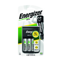 Energizer Base Battery Charger 4x AA Batteries 1300 Mah 632229