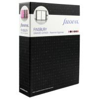 Filofax Finsbury Organiser Personal Black (Features zipped internal pocket and pen loop) 025302