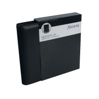 Filofax Metropol Black A5 Zipped Organiser (Includes UK and ROI bank holidays) 026979