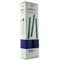 GBC Black CombBind 8mm Binding Combs (Pack of 100) 4028174U