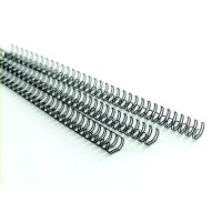 GBC MultiBind 70 Sheet Binding Wires 8mm Black (Pack of 100) IB165122