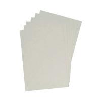 GBC LeatherGrain 250gsm A4 White Binding Covers (Pack of 100) 91486U