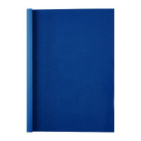 GBC LeatherGrain 1.5mm Royal Blue Thermal Binding Covers (Pack of 100) 451003U