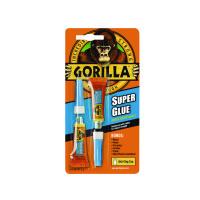 Gorilla Super Glue 3g (Pack of 2) 4044101
