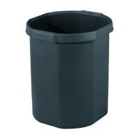 Exacompta Forever Black Waste Bin 435014D