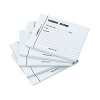 Guildhall Telephone 100 Leaf Message Pad (Pack of 5) 1571