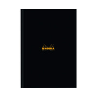 Rhodia Business A4 Book Casebound Hardback 192 Pages Black (Pack of 3) 119230C