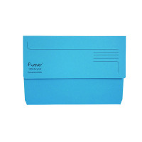Guildhall Forever Bright Blue Document Wallet (Pack of 25) 211/5001