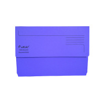 Guildhall Forever Bright Purple Document Wallet (Pack of 25) 211/5005