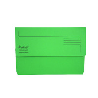 Guildhall Forever Bright Green Document Wallet (Pack of 25) 211/5004