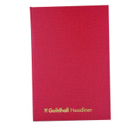 Guildhall Headliner Book 80 Pages 298x203mm 38/8 1148