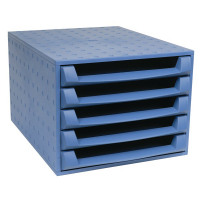 Forever Blue 5-Drawer Set 221101D