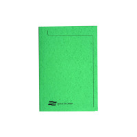 Europa Foolscap Green Square Cut Folder (Pack of 50) 4823