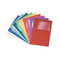 Exacompta Forever A4 Assorted Window Files (Pack of 100) 50100E