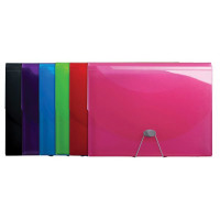 Iderama Expanding Files Assorted (Pack of 6) 58770E