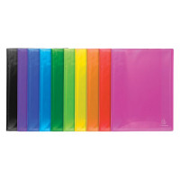 Exacompta Iderama Display Book 40 Pocket A4 Assorted (Pack of 12) 85870E