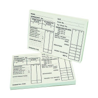 Guildhall Pay Slip Pad 100 Leaves (Pack of 5) 1609
