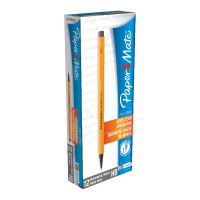 PaperMate Non-Stop Automatic Pencils 0.7mm HB Yellow (Pack of 12) S0189423