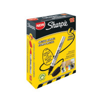 Sharpie Pro Permanent Black Bullet Tip Marker (Pack of 12) S0945720