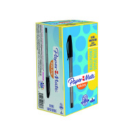 PaperMate InkJoy 100 Ballpoint Pen Medium Black (Pack of 50) S0957120