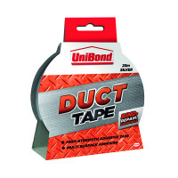 Unibond Duct Tape Silver 50mmx25m 1667753