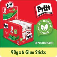 Pritt Stick Jumbo 90g Display Box (Pack of 6) 1479570