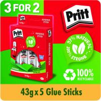 Pritt Stick 43g Hanging Box (3 Packs of 5) 1456072