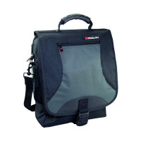 Monolith Multifunctional Nylon Black Laptop Backpack and Grey 2399