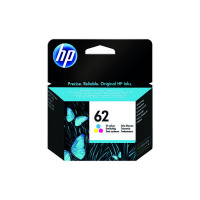 HP 62 Cyan/Magenta/Yellow Ink Cartridge C2P06AE