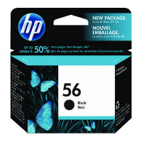 HP 56 Black Inkjet Cartridge (Standard Yield, 450 Page Capacity) C6656AE