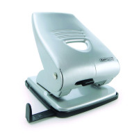 Rapesco 835 2-Hole Punch Capacity 40 Sheets Silver 1024