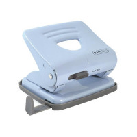 Rapesco 825 2 Hole Metal Punch Powder Blue