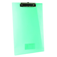 Rapesco Frosted Transparent Clipboard Single SHP PCBAS