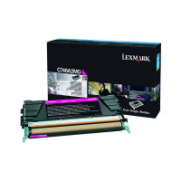 Lexmark Magenta Return Program Toner Cartridge C746A1MG