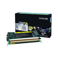 Lexmark Yellow Return Program Toner Cartridge C746A1YG