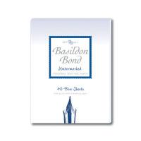 Basildon Bond Blue Writing Pad 137 X 178mm (Pack of 10) 100100123