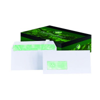 Basildon Bond DL Window Envelopes 120gsm Peel and Seal White A80117 Garden Voucher Prize Draw