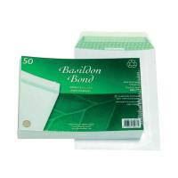 Basildon Bond C5 Envelopes 120gsm Peel and Seal White (Pack of 50) B80277