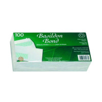 Basildon Bond DL Window Envelopes 120gsm Peel and Seal White (Pack of 100) D80276
