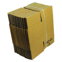 Single Wall 127x127x127mm Brown Corrugated Dispatch Cartons (Pack of 25) SC-01