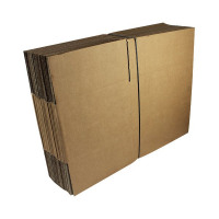 Single Wall 330x254x178mm Brown Corrugated Dispatch Cartons (Pack of 25) SC-13
