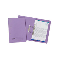 Guildhall Foolscap Mauve Transfer File (Pack of 25) 346-MVEZ