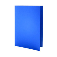 Guildhall Foolscap Blue Mediumweight Square Cut Folder (Pack of 100) FS250-BLUZ