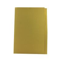 Guildhall Foolscap Yellow Mediumweight Square Cut Folder (Pack of 100) FS250-YLWZ