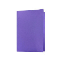 Guildhall Foolscap Mauve Mediumweight Square Cut Folder (Pack of 100) FS250-MVEZ