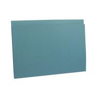 Guildhall Foolscap Blue Heavyweight Folder (Pack of 100) FS290-BLUZ